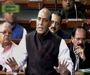kashmir flood situation under control: rajnath