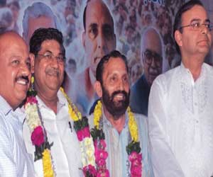 BJP set to try all his best for sdmc election