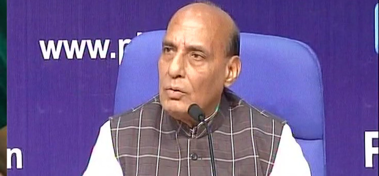 Congratulate 45th battalion of CRPF in particular & entire force of CRPF & J&K police:rajnath