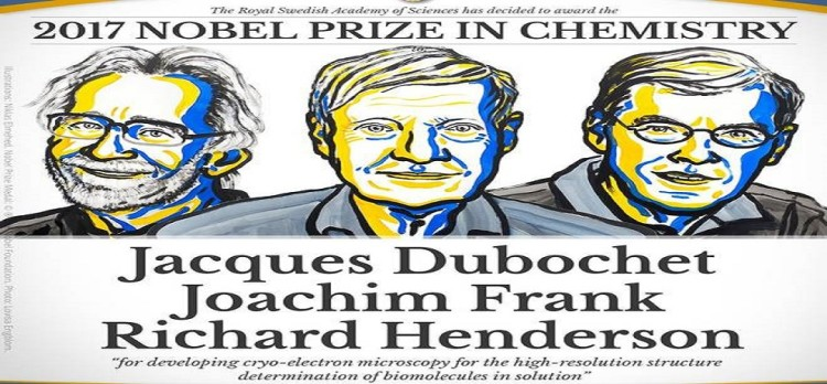 Nobel Prize 2017 in chemistry for developing of biomolecules research