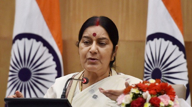 Sushma swaraj said no change in status quo at Doklam