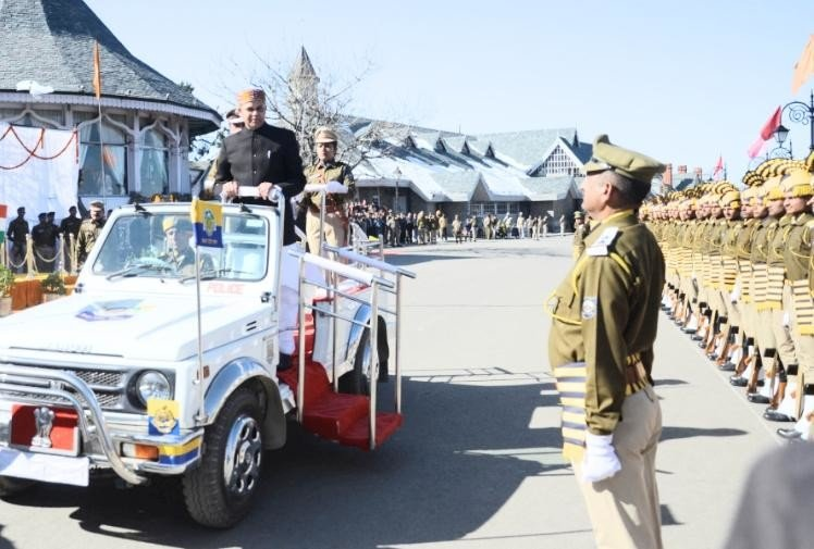 68th republic day state level function celebrated at shimla