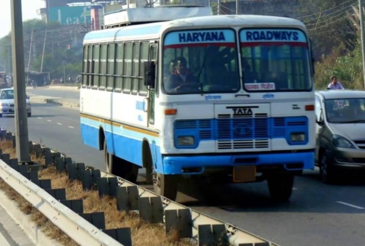 Haryana Roadways Bus