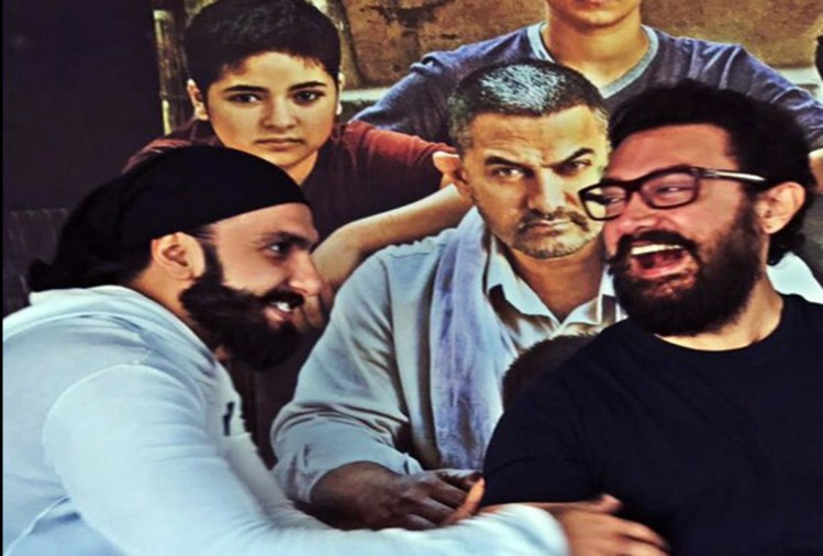 Ranveer singh and Aamir Khan is coming first time together on screen by this ad shoot