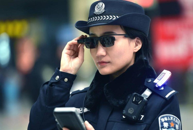 Chinese police testing facial recognition sunglasses