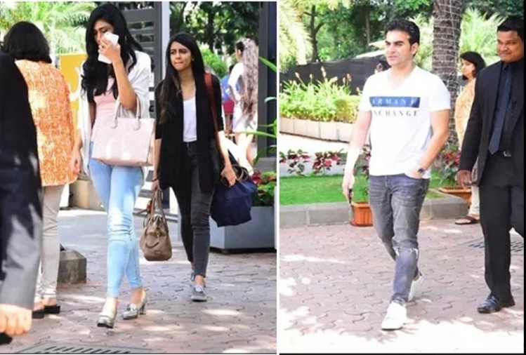 Arbaaz Khan spotted with her new girl friend