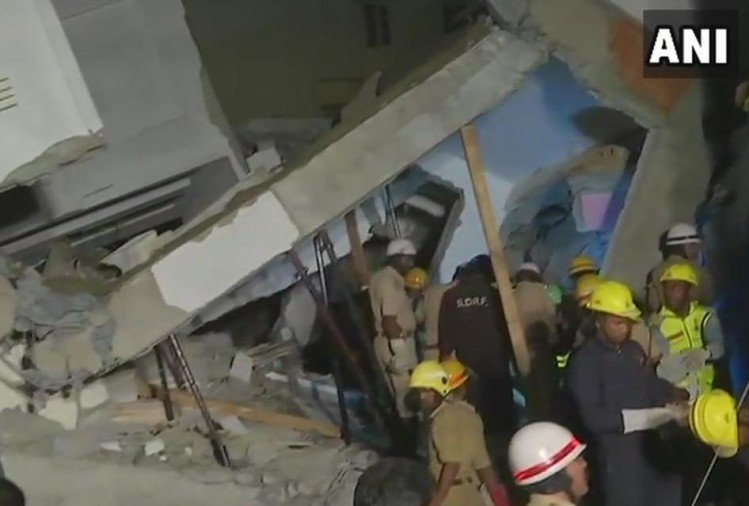 Bengaluru: Three people dead after building collapse incident
