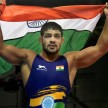 asian games 2018 sushil kumar disappoints sandeep tomar enters in quarter finals