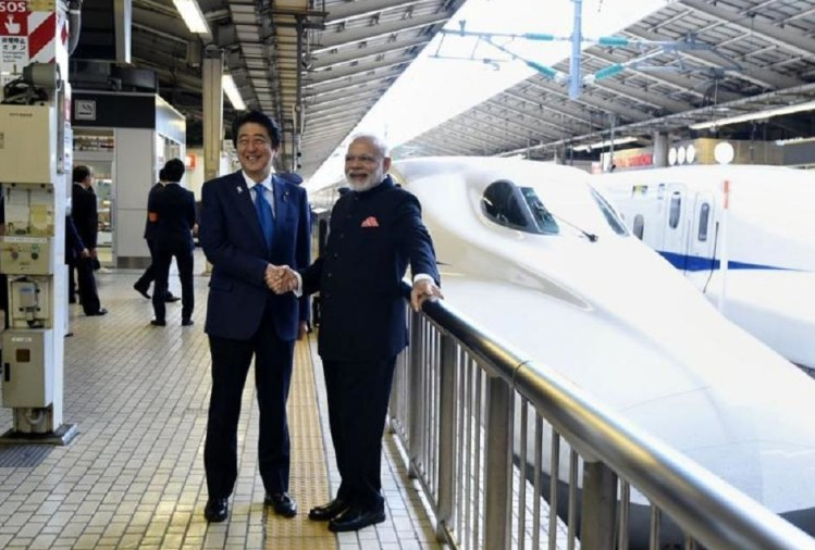 pm modi bullet train project stop by mango and chiku