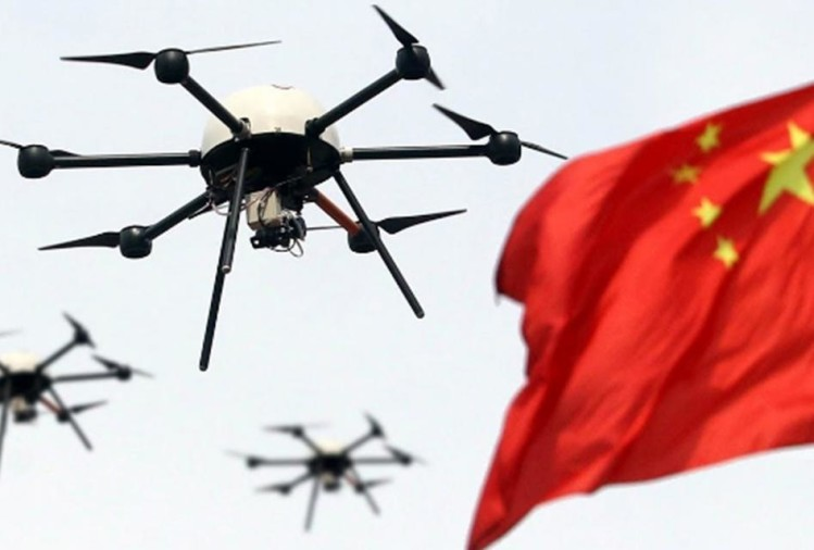Chinese drone company broken the Guinness World Record for most drones flown simultaneously