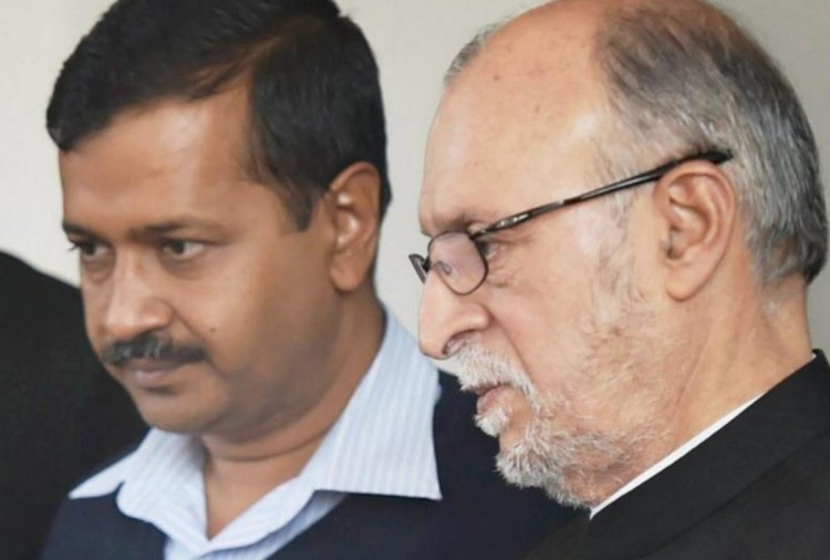 Delhi aap government allegiance to LG anil baijal and delhi police