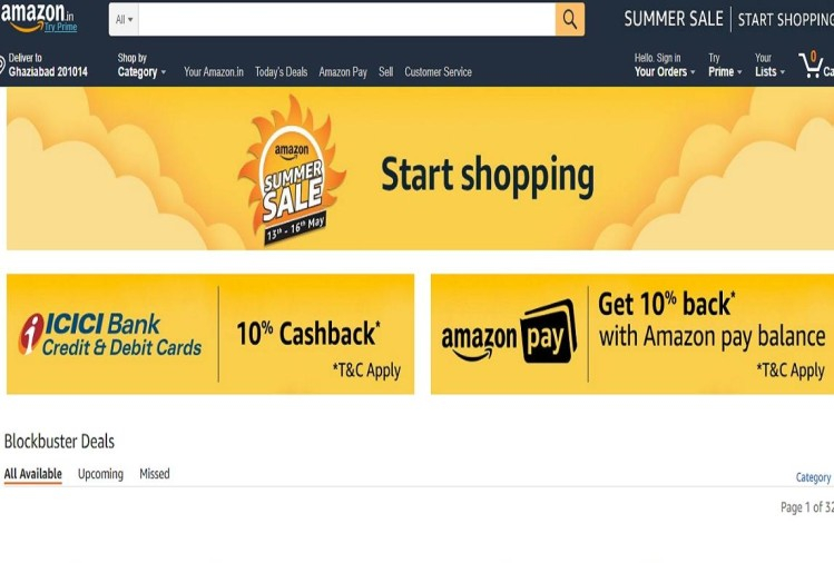 Amazon Summer Sale 2018
