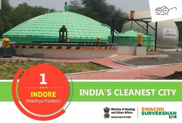 Indore, Bhopal & Chandigarh cleanest cities in India: Survey