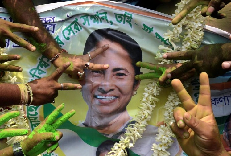 West Bengal panchayat election results: Trinamool looks set to sweep polls, BJP distant second