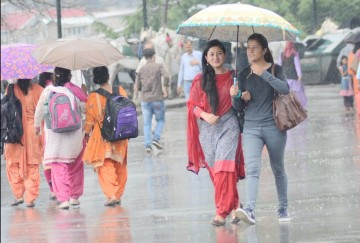 Himachal weather report 22nd and 23rd august rain alert