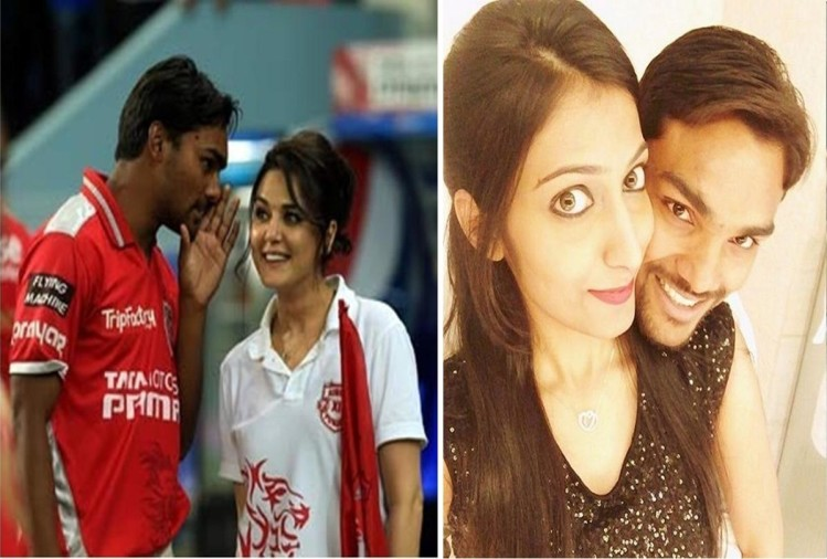 India cricketer and IPL star Sandeep Sharma got engaged with long time girlfriend sasha satvik