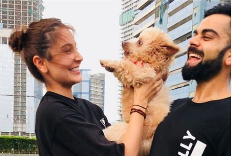 Virat Kohli Shares Picture with wife Anushka Sharma, fans gives interesting comments