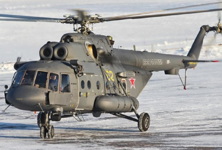 Russian helicopter crash in North Siberia, 18 people dead