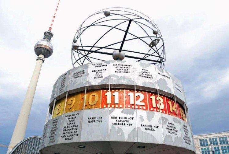 People can see the time of 148 major cities of the world from this World Clock