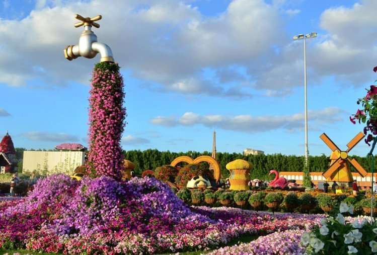 Know about the miracle garden of Dubai