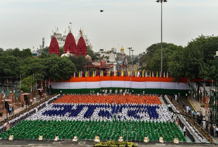 Independence Day 2018: Watch the preparation of Independence Day through pictures