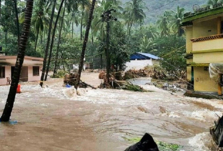 Kerala: know the Situation of state through pictures, IMD issues Red Alert